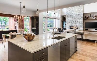 Edge Options for Quartz Kitchen Countertops | Wisconsin